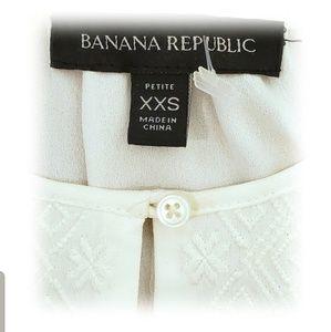 Banana Republic Tops - BANANA REPUBLIC. 2 for $30. PETITE BLOUSE
